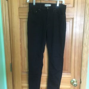 Free People Size 28 Black Skinny Jeans